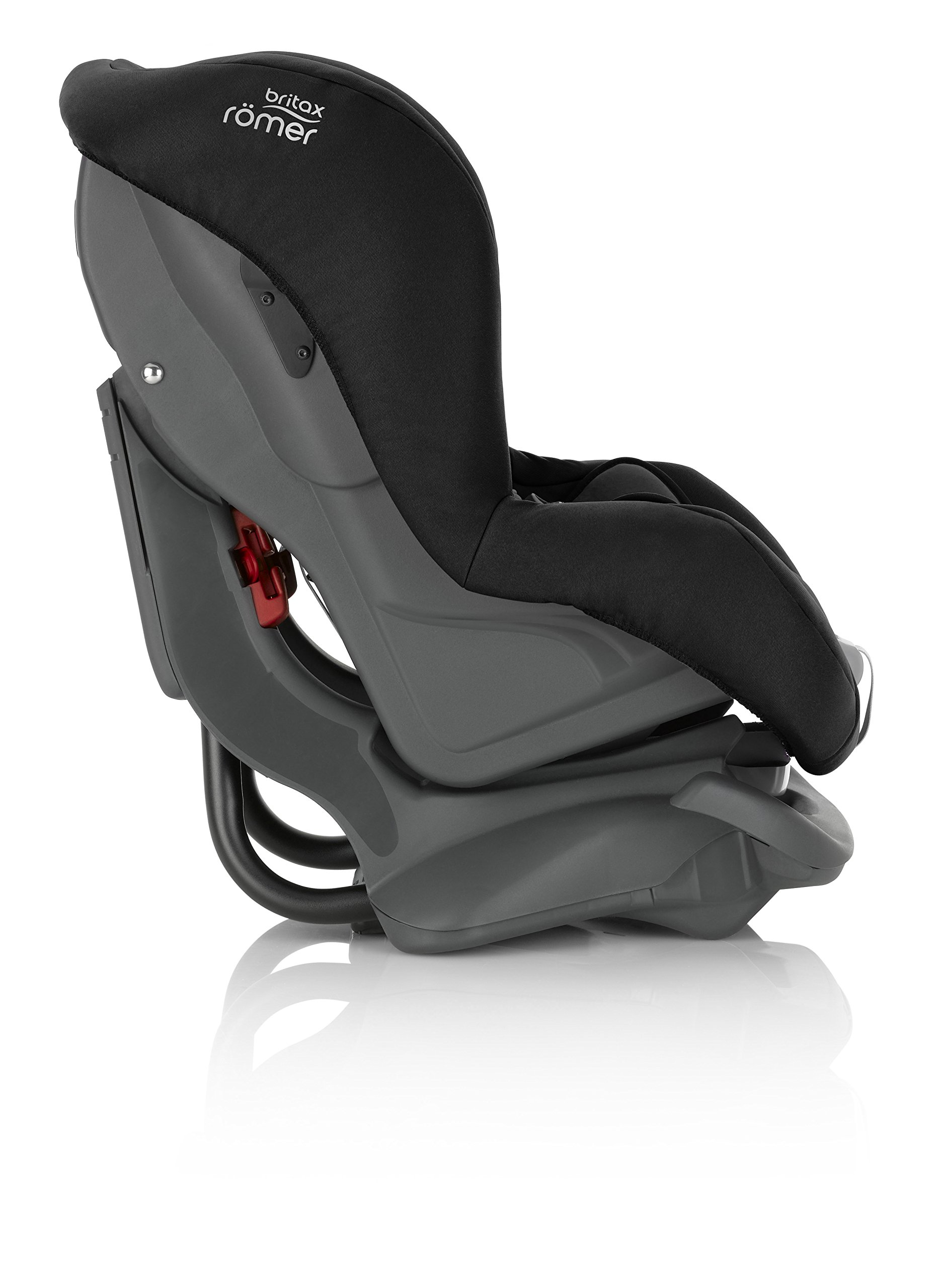 Britax Römer FIRST CLASS PLUS Group 0+/1 (Birth-18kg) Car Seat - Cosmos Black  Extended recline position when rearward facing - the safest way to travel Reassurance built-in - CLICK & SAFE harness tensioning confirmation Superior protection - side impact protection Plus performance chest pads and pitch control system 6