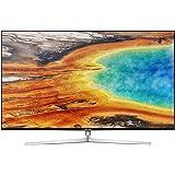 "Samsung UE49MU8000 49"" 4K Ultra HD Smart TV LED, Wi-Fi, 3840 x 2160 pixels, DVB-T2CS2, Argento"