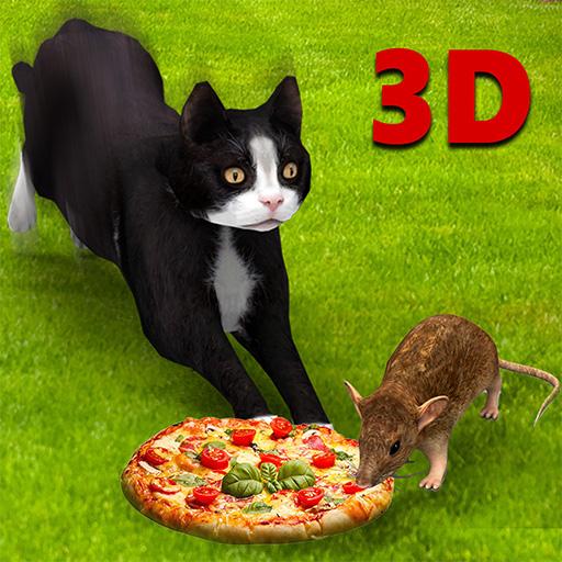 Cat Vs Mouse Simulator 3D (Edge Vs)