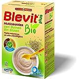 Blevit Plus Bio Multicereales con Quinoa - Papilla de Cereales para Bebé 100% Ecológica - Facilita la Digestión solo con Cere