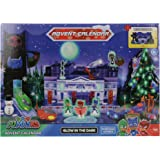 Pj Masks Advent Calendar with Diorama and Glow-in-The-Dark Effects Toy playset Roleplay Pre School Activity Toy for Kids Boys
