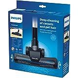 Philips FC8005/01 Universalbodendüse, zur Teppich-, Polster- und Tierhaarreinigung, schwarz