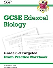 New GCSE Biology Edexcel Grade 8-9 Targeted Exam Practice Workbook (includes Answers)