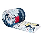 Divine Casa Microfibre Multicolor Comforter/Blanket/Quilt/Duvet Lightweight, All Weather Single Comforter, Geometric
