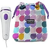Braun Silk-expert 3 BD 3006 IPL Haarentfernungsgerät, sichere IPL-Technologie für dauerhafte Haarentfernung für Frauen/Männer, mit Kapitza-Aufbewahrungsbeutel In Limitierter Edition, weiß/violett