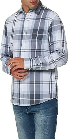 Jack & Jones Men's Jjbruce Shirt Ls One Pocket