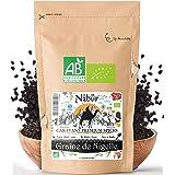 Nabür - Nigella orgánica semillas 200 gr   Comino Negro Organico Gourmet - Infusion, Cocinar, Hornear - Rico en hierro, miner