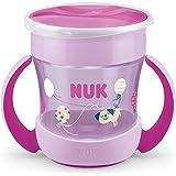 NUK Mini Magic Cup doftmugg, 360°, dryckeskant, 160 ml, läckagesäker, rosa