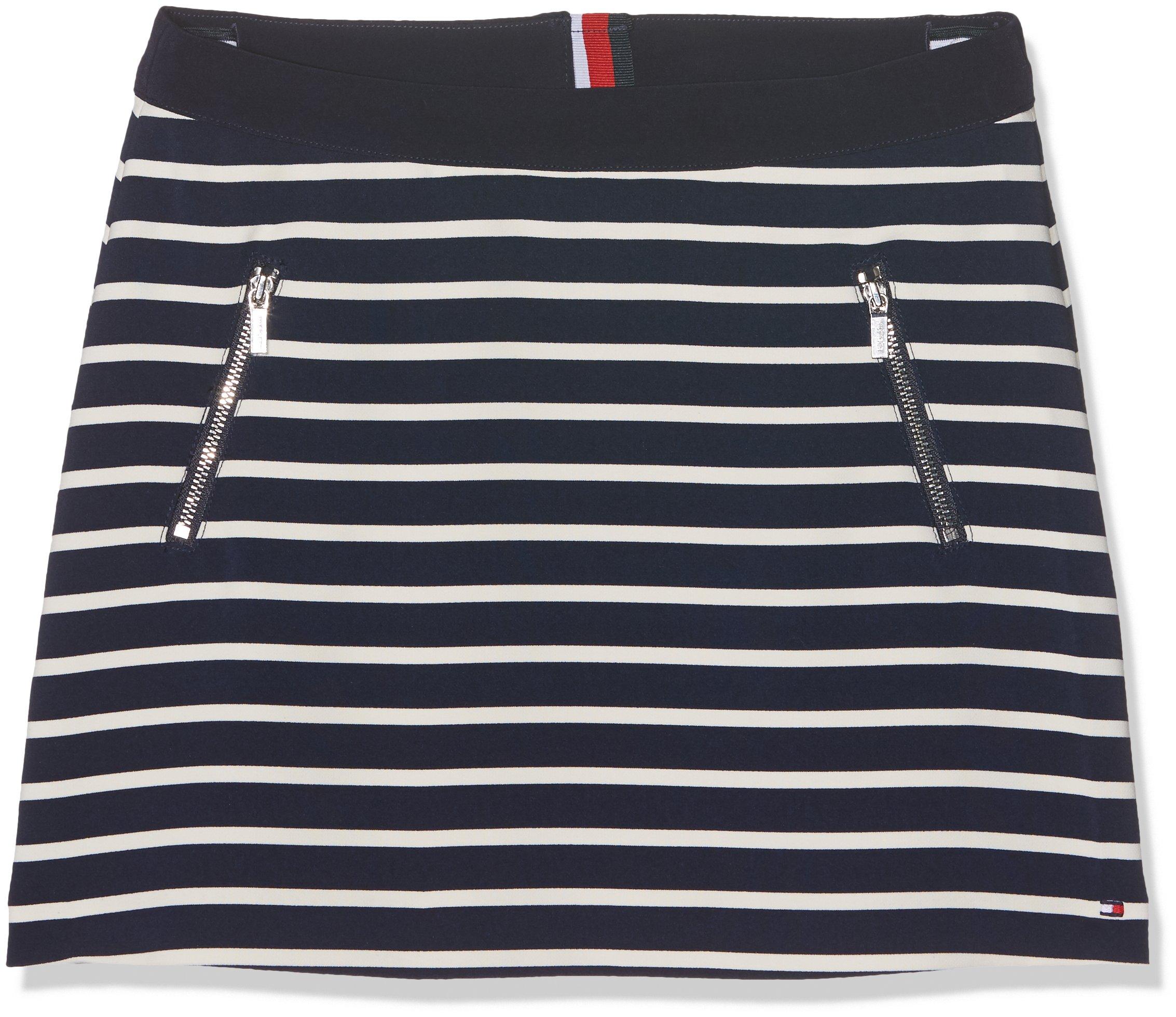 Tommy Hilfiger Ame Bi Stripe Skirt Falda para Niñas