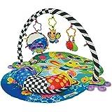 """Lamaze Spieldecke """"Freddie das Glühwürmchen"""" – Babydecke ab 0 Monaten in ansprechenden Farben mit vielen bunten Spielsachen zur Förderung der motorischen Fähigkeiten"""