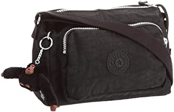 Kipling Women's Reth Shoulder Bag K13549900 Black: Amazon.co.uk ...