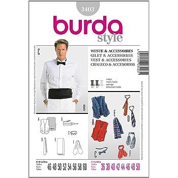 Burda Schnittmuster Anzug & Weste 6871: Amazon.de: Küche & Haushalt
