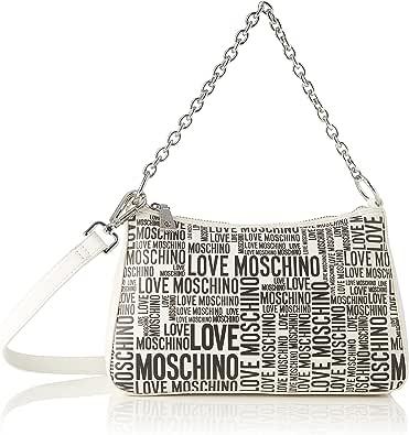 Love Moschino, Damenhandtasche, Kollektion Herbst Winter 2021, Weiß, U
