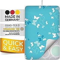 smart&gentle Made in Germany tapis de repassage sur table pour fers à vapeur 100x65cm - nappe de repassage sur table…
