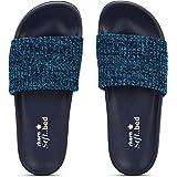 Skora Fashion Sliders-511,Grey Sole, Sliders, Sliders for women, Women Sliders, Sliders Women, Sliders for Girls, Flip Flop S