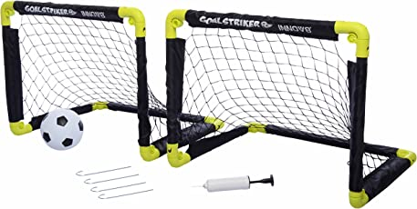 Comdaq Folding Mini Soccer Goal, Set of 2