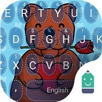 Teddy Bear Love Theme&Emoji Keyboard