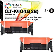 (2 x Black) TG Imaging Compatible CLTK404S CLT-K404S Toner Cartridge for Use in Samsung C430W C480FW Printers
