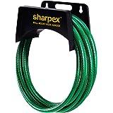 Sharpex Garden Steel Material Hose Hanger - Wall Mounted Watering Hose Holders - Heavy Duty Portable Irrigation Hose Hanger O
