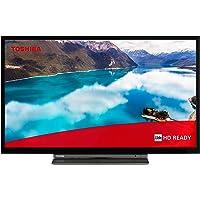 Toshiba 24WL3C63DAX 24 Zoll Fernseher (HD ready, Smart TV inkl. Prime Video / Netflix, Bluetooth, WLAN, Triple Tuner…