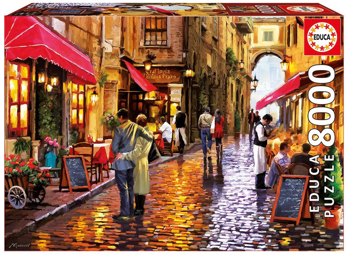 Educa Borrás – Puzzle Cafe Street, 8000 Piezas (16788.0)