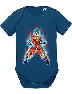 Son Baby Dragon Ball Strampler Bio Baumwolle Body Jungen /& M/ädchen 0-12 Monate