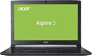 Acer Aspire 5 (A517-51-36LH) 43,9 cm (17,3 Zoll Full-HD matt) Multimedia Laptop (Intel Core i3-7020UF, 8 GB RAM, 1.000 GB HDD, Intel UHD, Win 10) schwarz