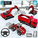 City Snow Excavator: Juegos de sopladores de nieve