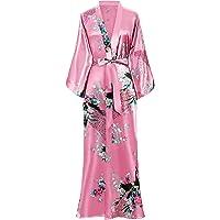 BABEYOND Vestaglia Kimono Donna Kimono Donna Lungo Pigiama Kimono Donna Vestaglia Kimono Raso con Cintura