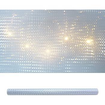 Tigofly 4 St/ück 10 x 21 cm Holografische Klebefolie Flash Glas Disco Draht Muster K/ünstliche Fischhaut Jig Aufkleber Hard Baits K/öder Aufkleber
