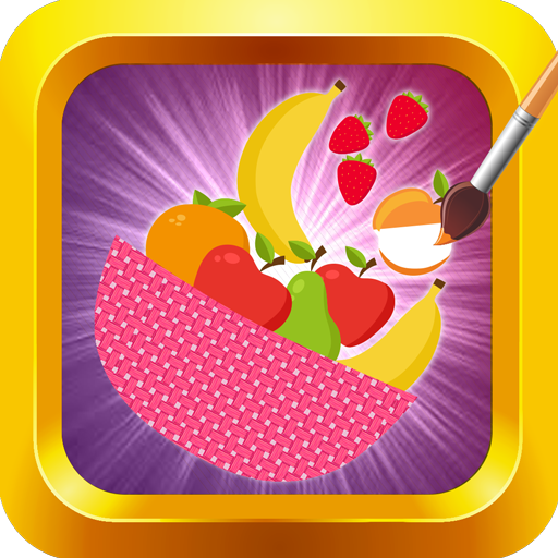 Fruits Coloring: Kids Painting