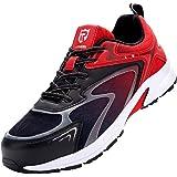Zapatos de Seguridad Hombre,S1/SBP/SB SRC Punta de Acero Ultra Liviano Suave y cómodo Transpirable