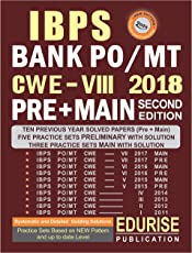 IBPS BANK PO 2018 PRELIMINARY + MAIN Previous Year Solved Papers (2017 - 2011) Practice Sets with Solutions