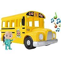 CoComelon CMW0015 - Bus con suono e il personaggio di JJ, giocattolo per bambini dai 2 anni in su