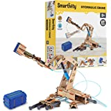 Smartivity Pump it Move it Hydraulic Crane STEM STEAM Educational DIY Building Construction Activity Toy Game Kit, Easy Instr