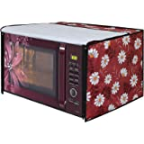 Dream Care Vinyl Floral Printed Microwave Oven Cover for IFB 23 L Convection Oven, 21.5-Inch, Multicolour