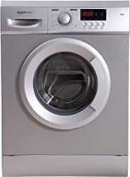 AmazonBasics 6 kg Fully-Automatic Front Load Washing Machine (Grey/Silver, In-built Heater, Self cleaning technology)