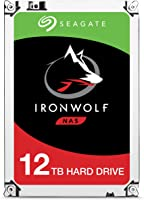 Seagate IronWolf 12 TB interne NAS Festplatte (SATA, 128 MB Cache, 7200 RPM, SATA 6 Gb/s)