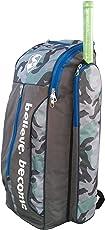 SG Savage X1 Cricket Kit Bag, Camo/Grey