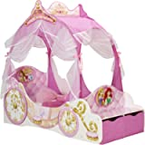 Disney Princess Carriage Kids Toddler Bed by HelloHome, Pink, Toddler (70 x 140 cm)