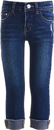 GULLIVER Jeans Mädchen Blau Dunkelblau Jeanshosen Stretch Eng 2-7 Jahre 98-128 cm