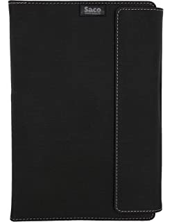 Saco 7Plus Tablet Flip Cover case for Lenovo Yoga Tab 3 8 Tablet  8 inch, 16  GB, Wi Fi   Black