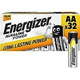 Energizer AA Batteries, Alkaline Power Double A Batteries, 32 Pack