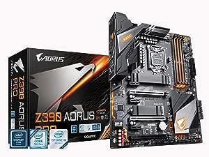 GIGABYTE Z390 AORUS PRO Carte mère Intel LGA1151/Z390/ATX/2xM.2 Thermal Guard/Realtek ALC1220/RGB Fusion/Gaming