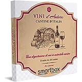Smartbox - Cantine d'Italia - Cofanetto Regalo Coppia, 1 Degustazione di Vini per 2 Persone, Idee Regalo Originale