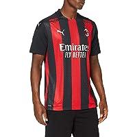 PUMA Men's Ac Milan Season 2020/2021 Home Shirt Authentic
