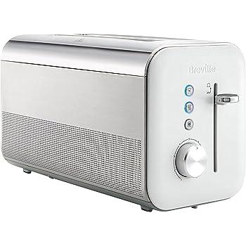 Breville VTT688X Hochglanz Langschlitz-Toaster für vier Scheiben