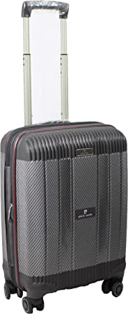 Pierre Cardin | Suitcase | Luggage | Trolley | Carry on | Travel bag | Cabin-size | Grey-Black color
