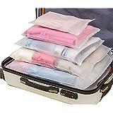 Sistema di Cubo di Viaggio 12 Impermeabile Trasparente Organizzatori di Viaggio Bagagli Beauty Case Organizzatore Perfect per