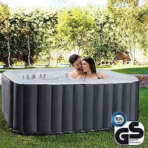 Miweba MSpa aufblasbarer Whirlpool Outdoor - 6 Personen